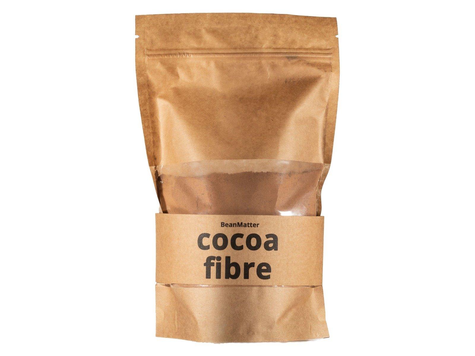 Natürliches Kakaoschalenpulver Ballaststoff 250g