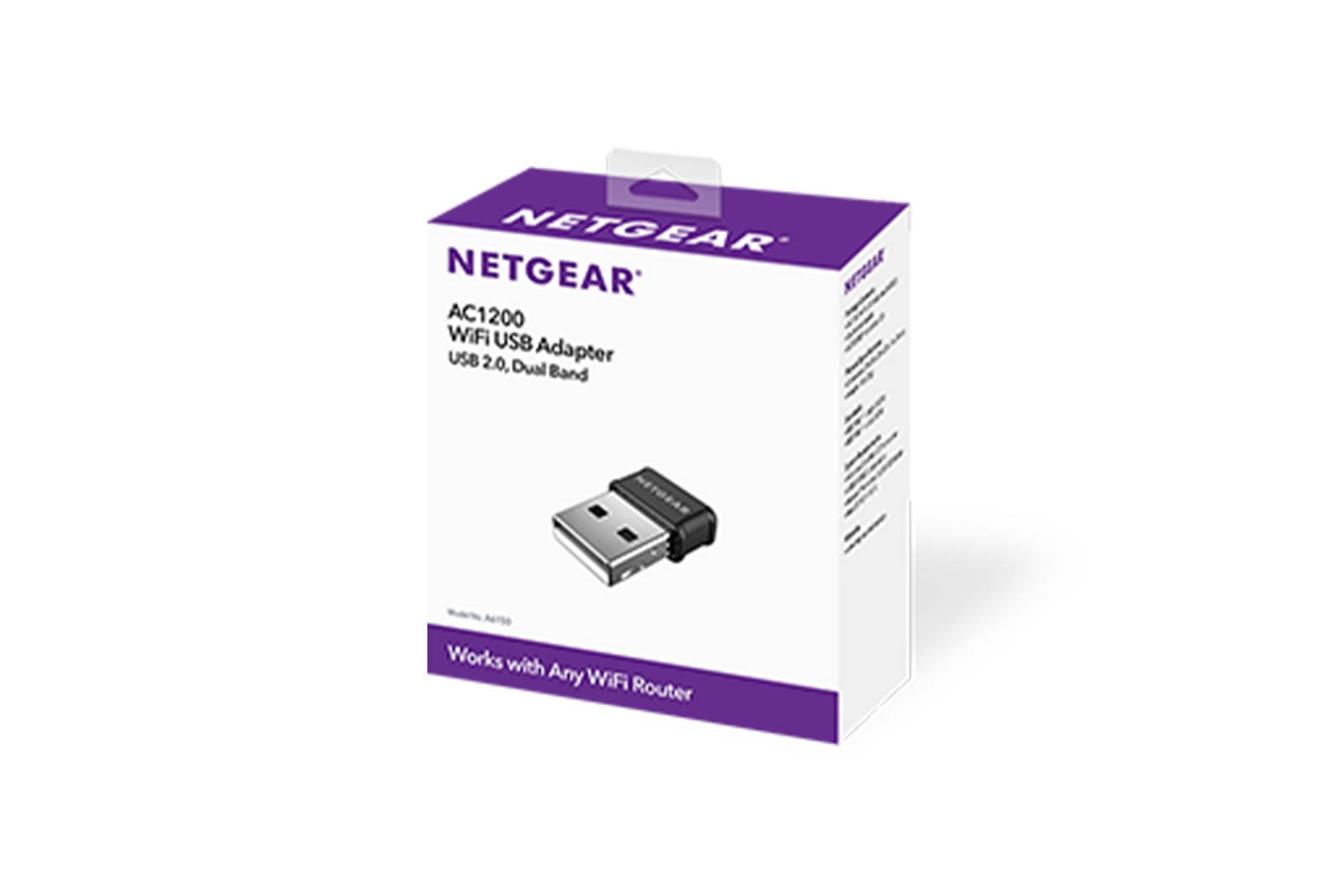 Netgear Dualband USB 2.0 WLAN-Adapter AC1200 (A6150)