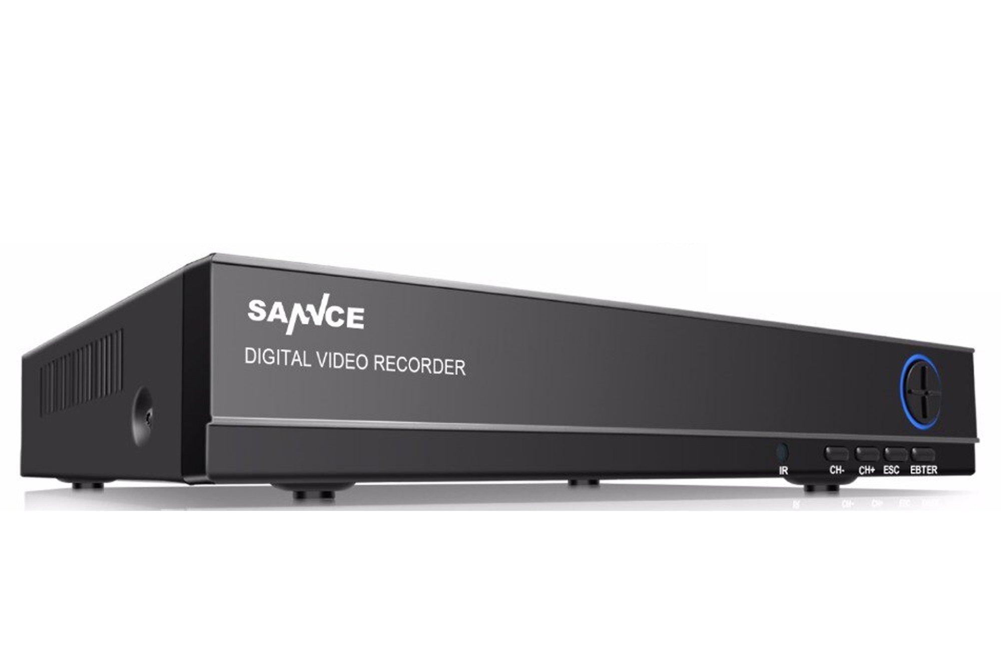 Rejestrator / DVR Sannce DN41S HD H.264 PoE